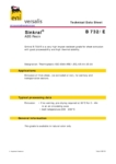 Сополимер акрилонитрила, бутадиена и стирола ABS/АБС Versalis Sinkral® B 732/E