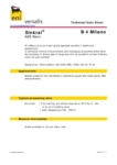 Сополимер акрилонитрила, бутадиена и стирола ABS/АБС Versalis Sinkral® B 4 Milano